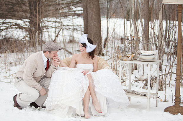 Winter Wedding Color