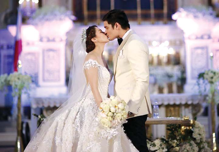 Dingdong Dantes and Marian Rivera Wedding