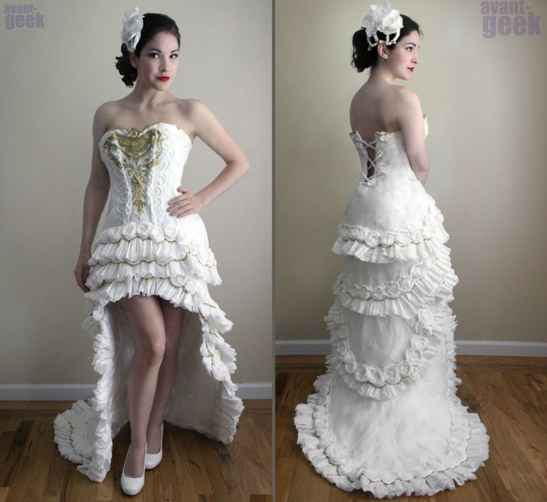 Wedding Dress Ornate Design