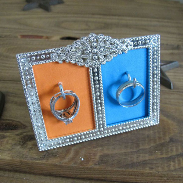 DIY Wedding Ring Holder