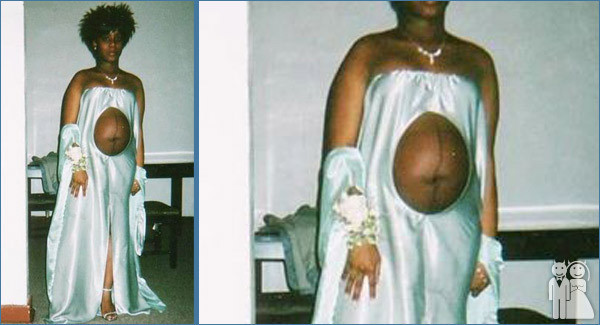 Pregnant Women Wedding Dress