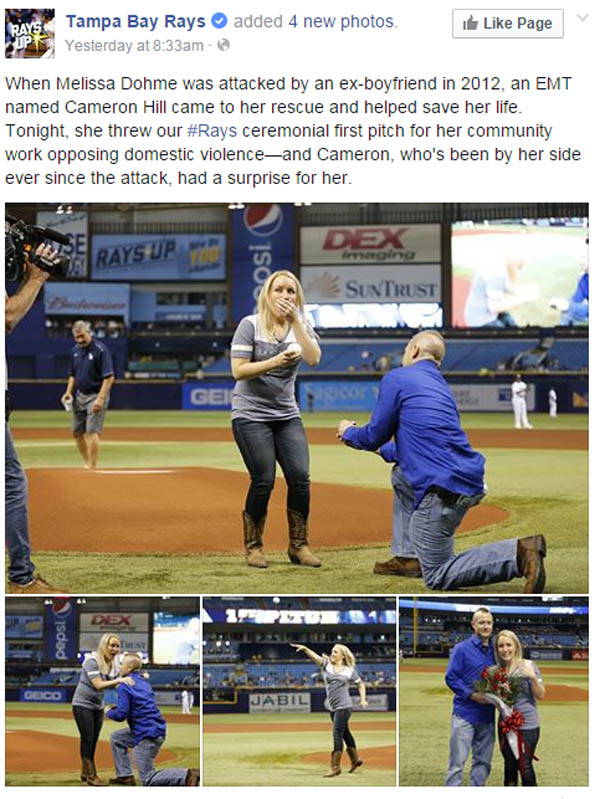 Tampa Bay Wedding Proposal