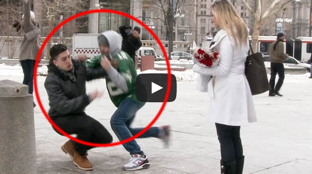 Wedding Proposal Roberry Prank