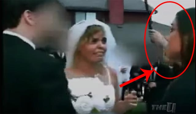 Woman Stormed Wedding Ceremony