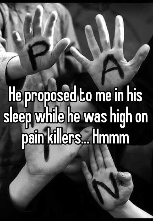 Sleeping Proposal