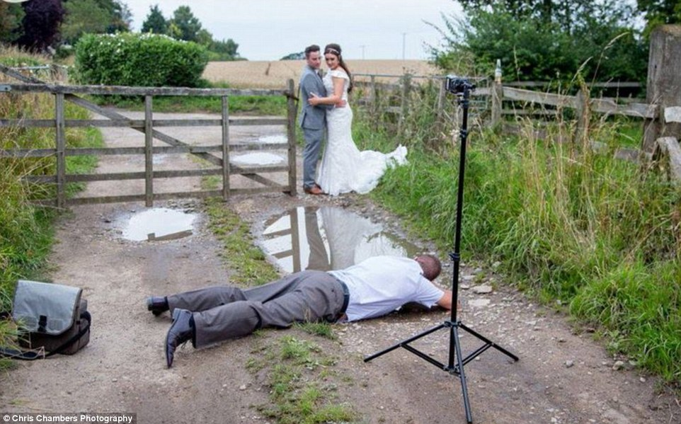 Chris Chambers Wedding Photography Behind The Scene