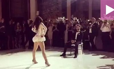 melissa-molinaro-beyonce-wedding-dance