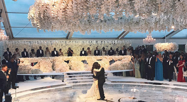 Nigerian Billionaire's Son Spent $6.3 Million For His Lavish Wedding Ceremony