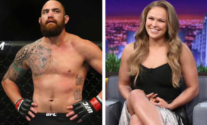 MMA Superstar Ronda Rousey Marries Travis Browne in Intimate Wedding Ceremony in Hawaii