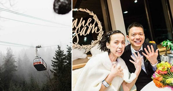 Dying Bride Fulfills Dream Mountaintop Wedding, Just a Week after Boyfriend's Sweet Proposal