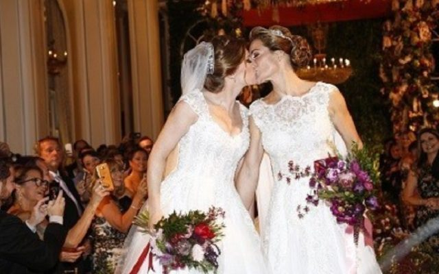 Jewish Same-Sex Wedding at the Iconic Copacabana Palace, Sparks Media Frenzy in Brazil