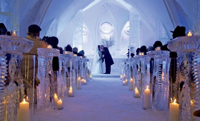 Top 5 Best Destinations for Ice-Themed Parties and Winter Weddings