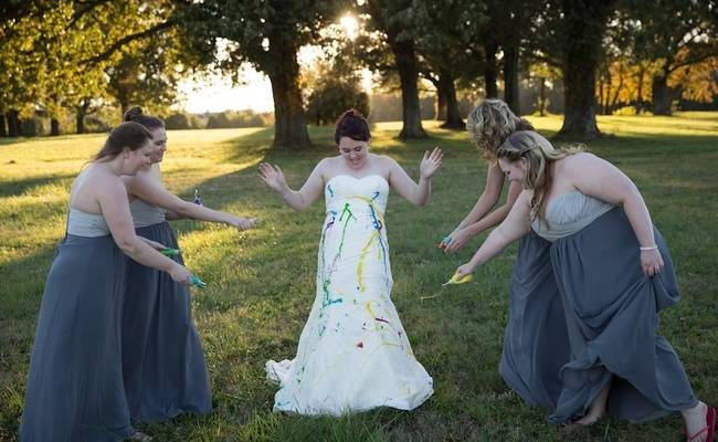 Don't Let Pain Screw You Off! Look What This Bride Did When Her Groom Cancelled The Wedding!