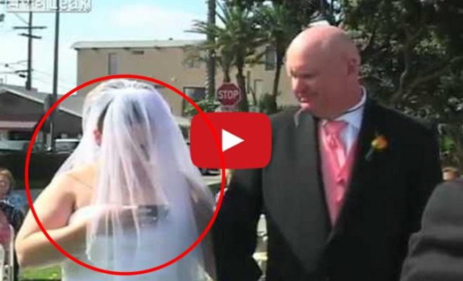You Wouldn't Believe What This Bride Did During Her Wedding Ceremony. What A Shame!