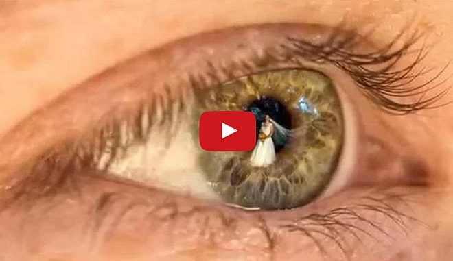 Wow, These Wedding Photographs Are Totally Awesome! Look At Those Eyes!