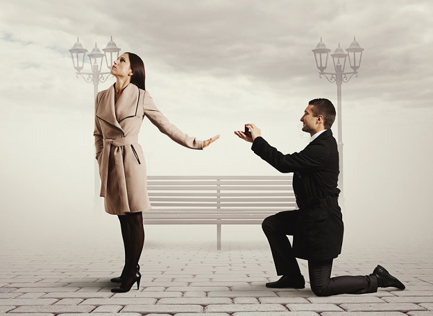 Wedding Proposal Rejected
