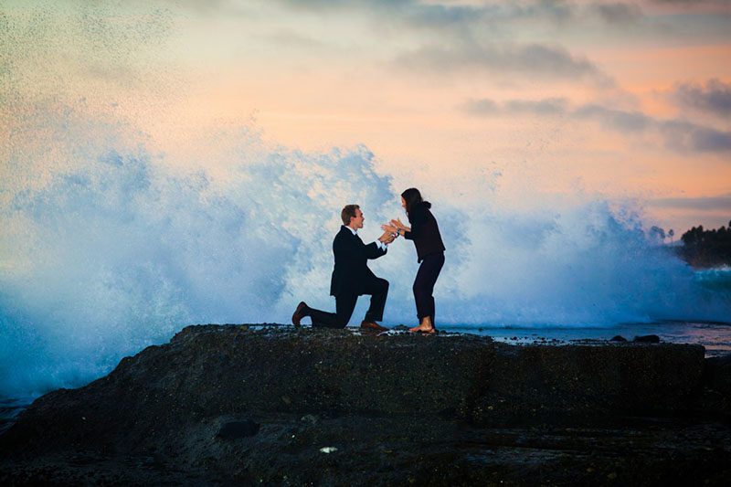 Extreme Wedding Proposal