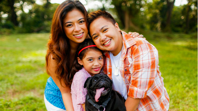 Aiza Seguerra and Liza Dino PreNup Photo