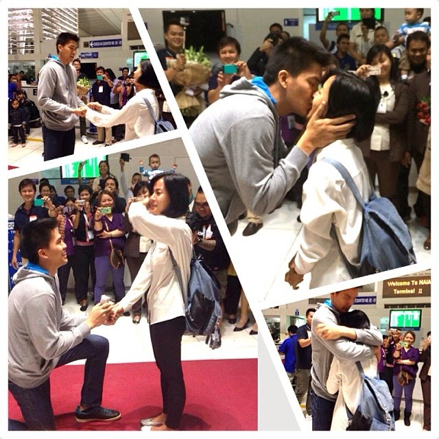 JC Intal Bianca Gonzales Wedding Proposal