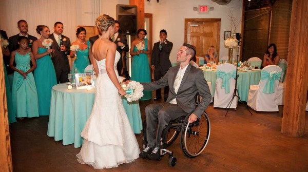 Sgt Joey Johnson and Michelle Johnson Wedding Reception
