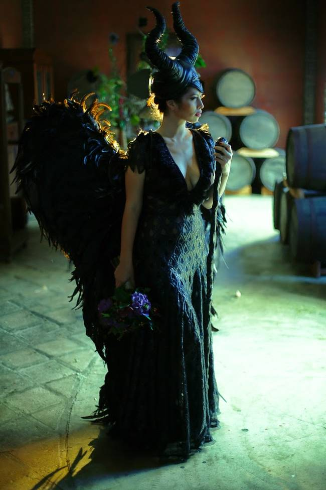 Maleficent Wedding Gown