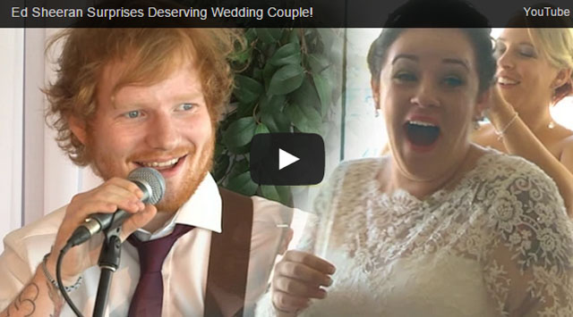 Ed Sheeran Wedding Guesting