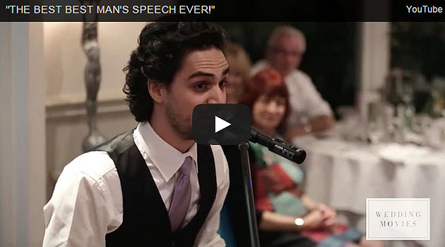 Best Best Man Wedding Speech Ever