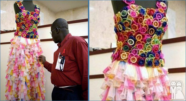 Condom Wedding Dress
