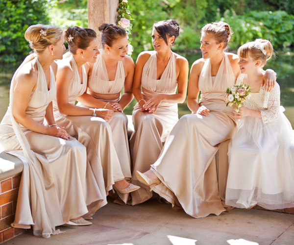 Easy Bridesmaid Hairstyles for long Hair