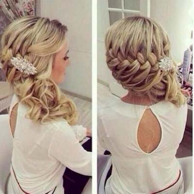 Loose Side Hairstyles for Curly Hair