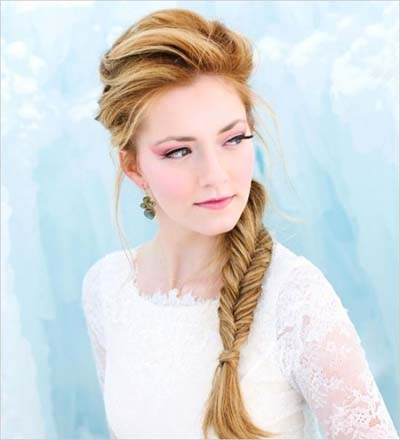 Side Fishtail Braid