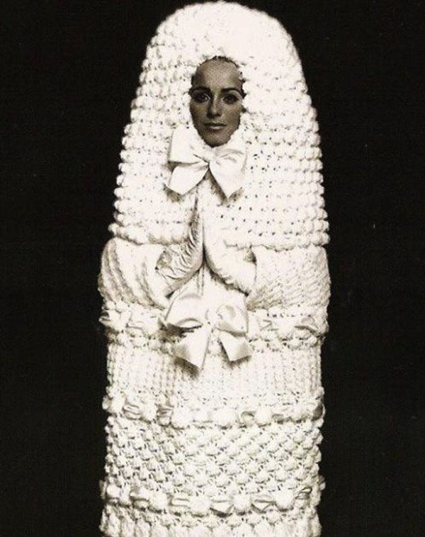 Tampon Inspired Wedding Dress