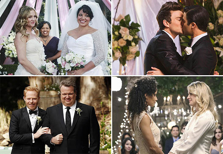 7 Best Same-Sex TV Weddings Ever
