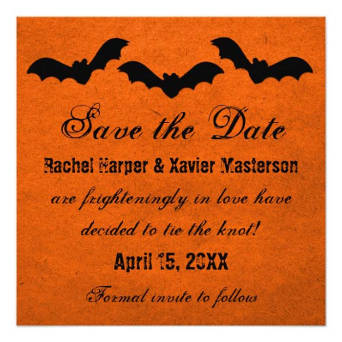 6 trio_of_bats_halloween wedding invitation