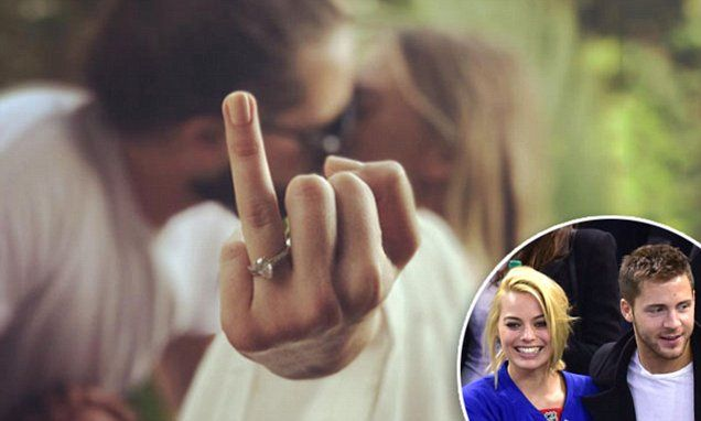 Margot Robbie and Tom Ackerley Wedding Ring