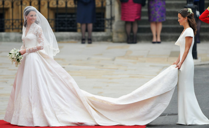 Kate Middleton Wedding Pippa Middleton Bridesmaid