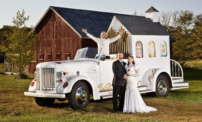 Five Wedding Themes and Places That Are Beyond Normal, #3 Is Not For The Faint Of Heart