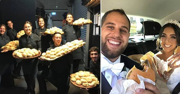 Couple Treats 450 Wedding Guests to McDonald's Burgers after 6-Course Dinner