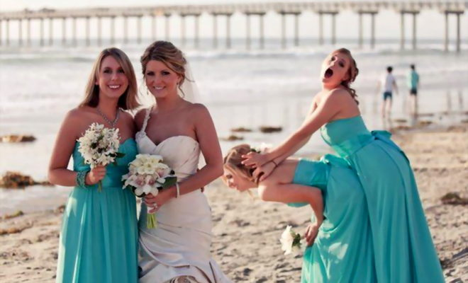 The Best Wedding Photobomb Ever!