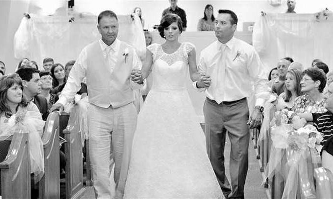 Watch How A Paralyzed Woman Walked Down The Aisle To Marry The Man Of Her Dreams