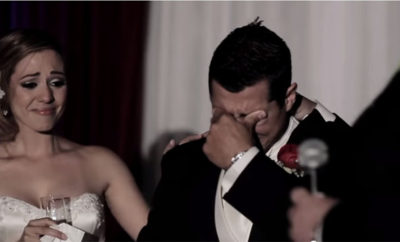 The Reason Why This Groom Broke Down In Tears Will Surely Make You Shed A Tear Too! Watch This!