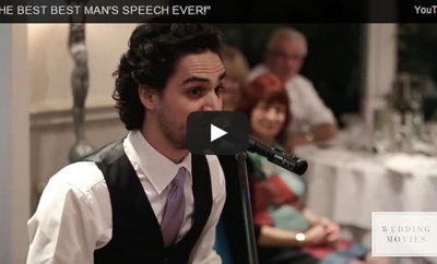 This Best Man's Speech Will Surely Make You Cry! Truly Heartwarming!
