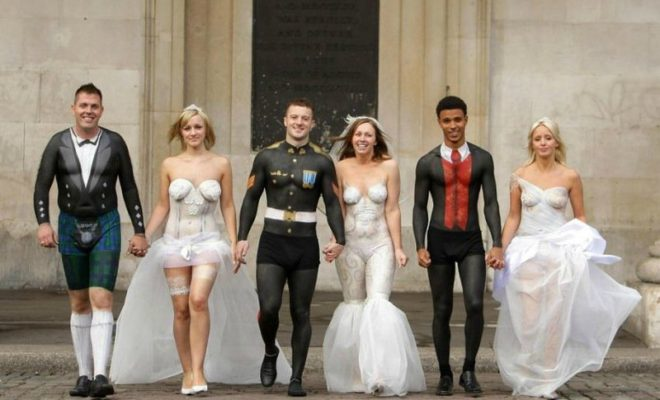 World's 10 Craziest Wedding Dresses That You Wish Were Not Real