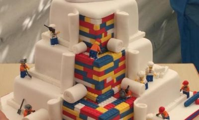 WHOA! This LEGO Wedding Cake Is Quite A Hit! See The Full Design In Here!