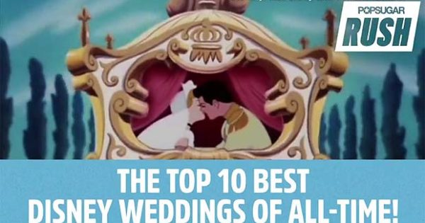 Top 10 Disney Weddings of All Time. #1 Is Truly Unbeatable!