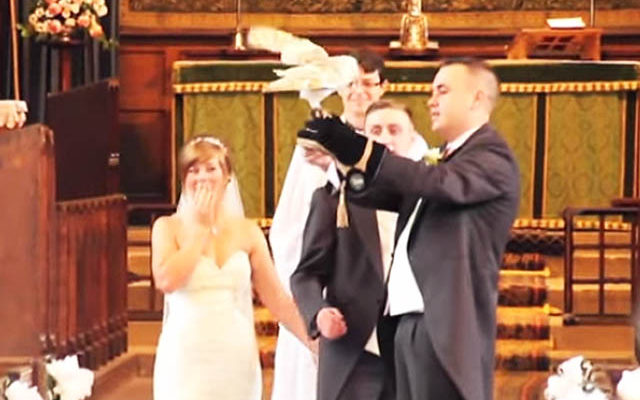 Bride Was Amazed After Seeing Their Ring Bearer, It Was Not What She Expected!