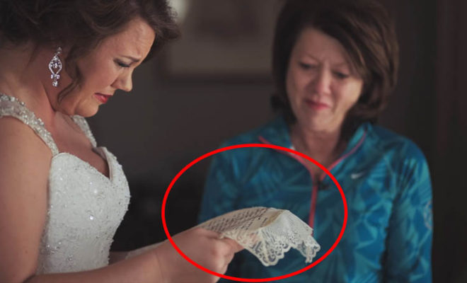 Bride Broke Down To Tears After Receiving This ULTIMATE Gift from Her Mom