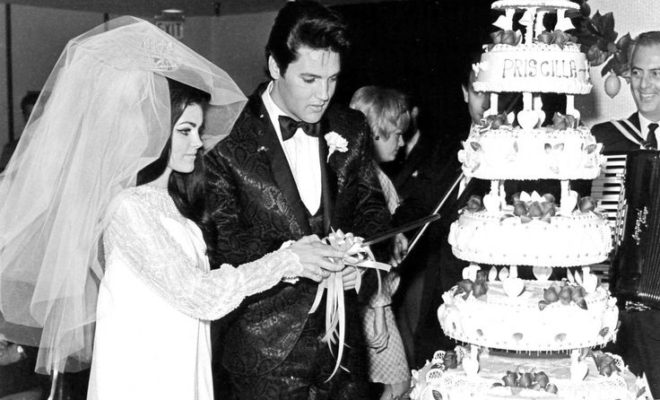 WATCH: Rare Footage Of Elvis Presley's Wedding Day. Bride Looks Really Stunning!